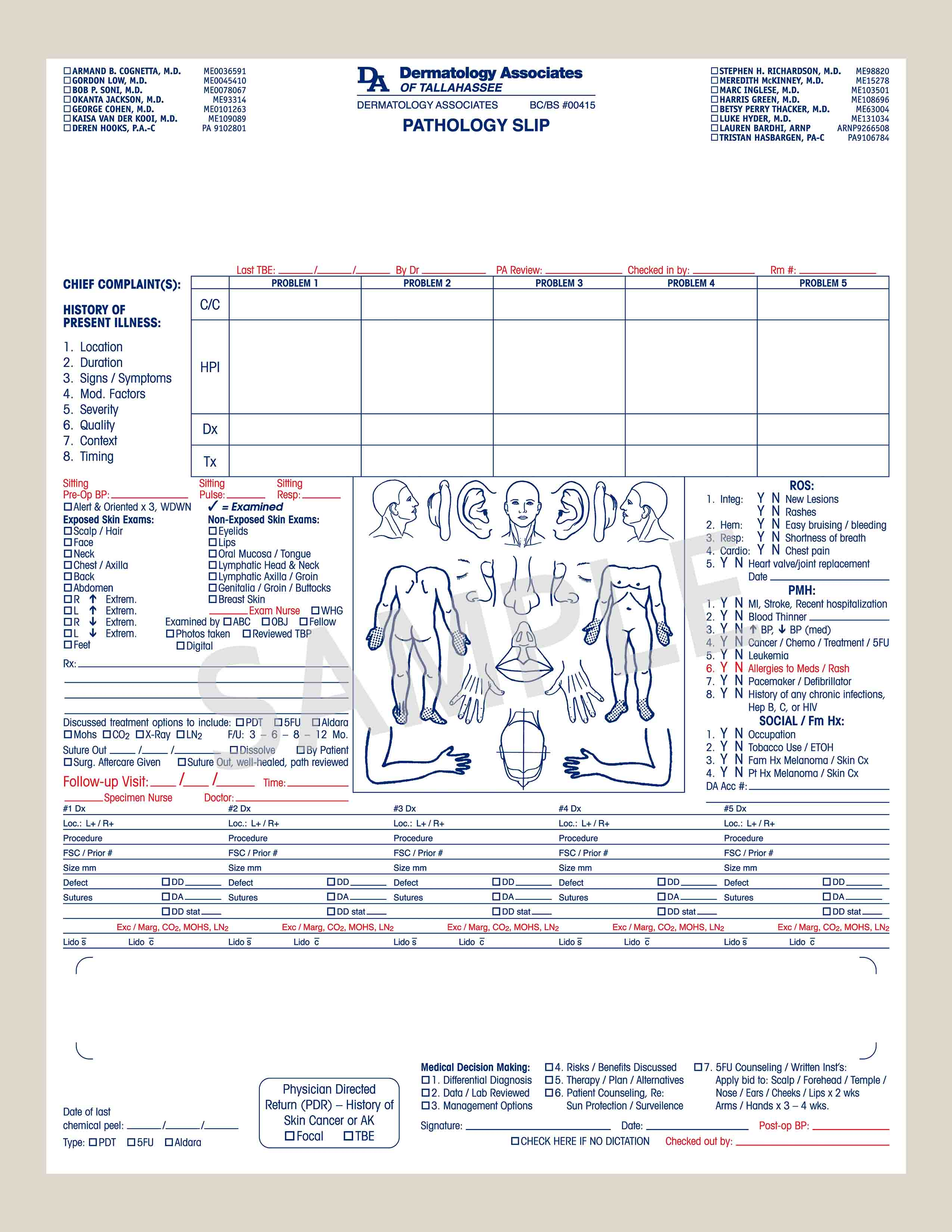 Custom Medical Form